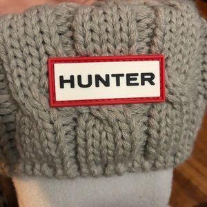 Hunter tall socks!